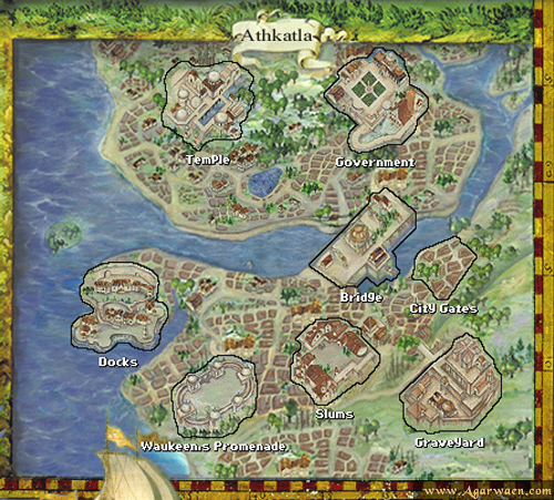 pillars of eternity world map